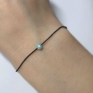 Amazonit 2,5 mm Armband 17 cm elastisch neu