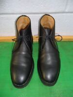 Peal & Co., Brooks Brothers Black Leather Chukka Ankle Boot Men SZ# 10.5 M