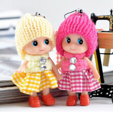 5PCS Kid Toys Interactive Baby Girls Dolls Mini Mobile Phone Pendant Accessories