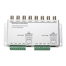 8 Channel Passive Video CCTV Transmitter Balun BNC Female RJ45 Cat5 UTP G7T9