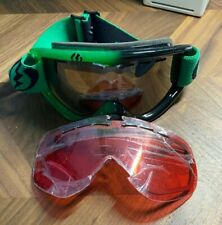 Electric Snowboarding Goggles Green and Black