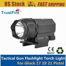 P05 Tactical Gun Flashlight Handgun Torch Light For Glock 17 19 21 43 48 Pistol