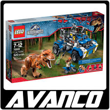 LEGO Jurassic World T. rex Tracker 75918 Tyrannosaurus Park BRAND NEW RETIRED
