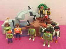 Playmobil Zoo Bassin Des Pingouins Avec Personnages