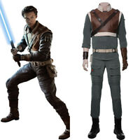 Star Wars Jedi: Fallen Order Cal Kestis Cosplay Costume Suit Outfit Full Set