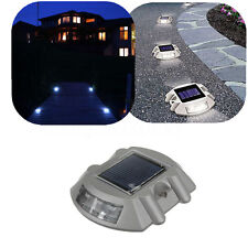 6 LED Solare Energia Giardino Lampada Da Esterna Yard Pathway impermeabile Luce