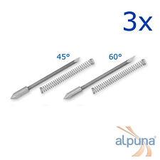 3 Plottermesser für Graphtec 0,9mm - 45° ALPUNA Qualitätsmesser