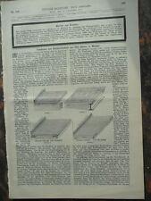 1892 Weimar Fuboden Geschäft Otto Hetzer