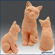 3D Silicone Soap/plaster/polymer clay Mold – Sitting Cat