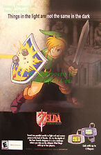 The Legend of Zelda - A Link to the Past: Game Boy Advanced Print Ad!