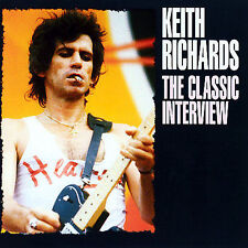 The Classic Interviews by Keith Richards (CD, Nov-2006, United States of Distribution)