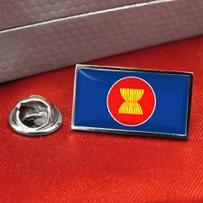 Association Of Southeast Asian Nations ASEAN Flag Lapel Pin Badge / Tie pin