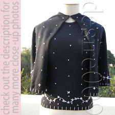 Barney Cheng Couture Twin Set w/ Swarovski Beadings!S