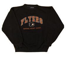 Vintage Logo Athletic Philadelphia Flyers Sweater Sweat Shirt Crewneck - Large L
