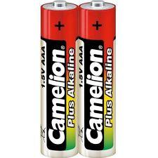 Lot de 2  piles/battery  Camélion  Alcaline Plus AAA LR03 sous cello