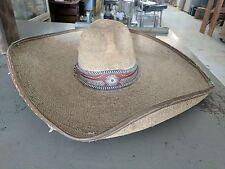 Vintage Avelar Mexican Sombrero 1942 Charro Rustic Western Cowboy Authentic Hat