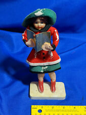 "Woolworth's Xmas Caroleers Japan 9"" Figure Doll Girl RARE Sheet Music #3"