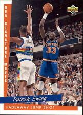 1993 94 Upper Deck NBA Signature Moves #244 Patrick Ewing New York Knicks NM