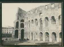 Italie, Rome, Le Colisée, ca.1900, Vintage silver print Vintage silver print