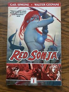 Red Sonja Queen Of Plagues Trade Paperback Gail Simone Walter Geovanni
