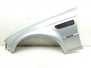 BMW 3 Series E46 M3 1998 To 2005 2 Door Cabriolet Pasenger Left Side Front Wing