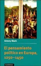 El pensamiento político en Europa, 1250-1450 (Spanish Language-ExLibrary
