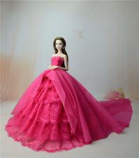 Rose Fashion Party Dress/Wedding Clothes/Gown For 11.5in.Doll S802