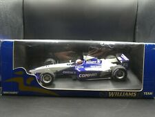 Minichamps 1:18 Juan Pablo Montoya Williams FW22 Showcar F1 2001 SIGNED with COA