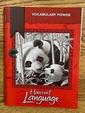 Harcourt Language Vocabulary Power - 3rd Grade