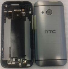 Original Backcover Akkudeckel Gehäuse Cover Deckel Schale Grau HTC One M8 Mini