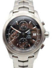 TAG Heuer Link Automatic Chronograph Men's Watch CJF2110 Near Mint, Serviced