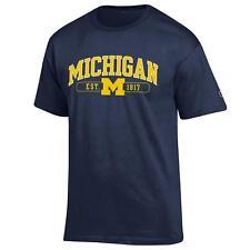 University of Michigan Wolverines T shirt NCAA Navy Blue