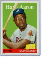 Hank Aaron 2019 Topps Archives 5x7 #78 /49 Braves