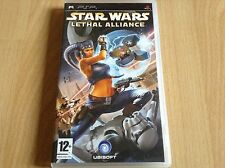 PSP. Star Wars. LETHAL ALLIANCE. Rare. Comme NEUF !