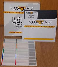 "NEU 10 Stück COMTEAM High Density HD 5,25"" 1,2MB 1,6MB Diskette Floppy OVP"