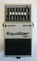 BOSS GE-7 Equalizer Guitar Effects Pedal made in Japan 1991 #236 Free Shipping