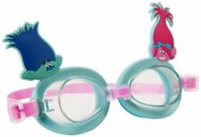 Trolls 3D Character Swimming Goggles Unisex Kids Water Fun Swimming Acessory 3+