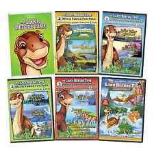 Land Before Time Complete Series Movies 1-14 Journey of the Brave Box/DVD Set(s)