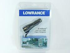 LOWRANCE Endura 12V - 5V USB Cigar Cigarette Adaptor NEW
