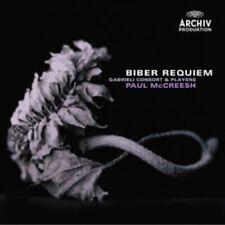 1-CD BIBER - REQUIEM - PAUL MCCREESH / GABRIELI CONSORT & PLAYERS