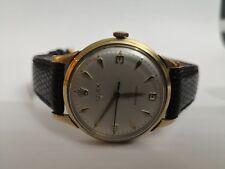 VINTAGE Rolex Gents Precision 9ct Gold Watch 1950s