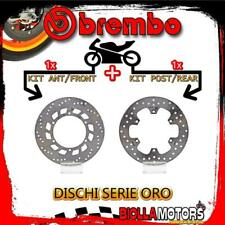 BRDISC-2288 KIT DISCHI FRENO BREMBO YAMAHA T MAX 2001-2003 500CC [ANTERIORE+POST