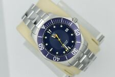 Tag Heuer WAB1112.BA0801 BLUE Aquaracer Watch Mens Professional Silver SS 300M