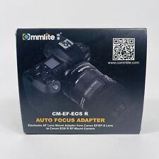 Commlite CM-EF-EOS R Electronic Auto-Focus Lens Mount Adapter Fit for Canon