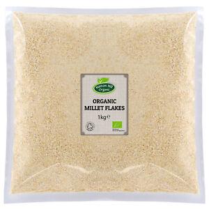 Organic Millet Flakes - Gluten Free - Certified Organic