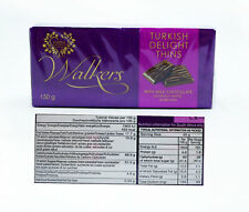 Walkers Turkish Delight Thins 2 x 150g