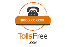 TollsFree.com - Brandable Domain Name for sale Toll free 1800 related domain