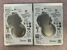"Lot of 2, Seagate Mobile HDD 1TB, 2.5"" Internal Hard Drives"
