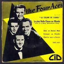 THE FOUR ACES CHARLIE WAS A BOXER RARE 45T EP BIEM CID 100.565