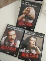 Dvd lote la huella del crimen tres casos